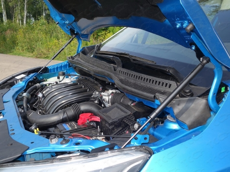 Renault Kaptur 2016- Упор капота (комплект)